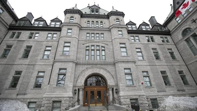 L'hôtel de ville de Québec.