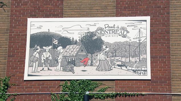 Le parcours «Paul à Montréal»
