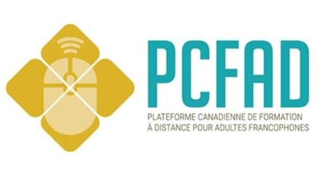 Le logo de la plateforme canadienne de formation à distance (PCFAD).