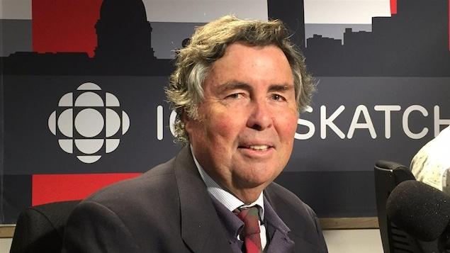 Stephen Kenny, observateur de la scène politique en Saskatchewan et ancien professeur d'histoire à l'Université de Regina