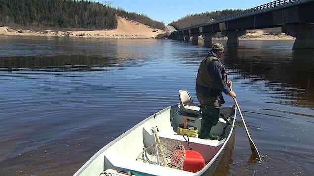 Début de la pêche au saumon sur la rivière Moisie