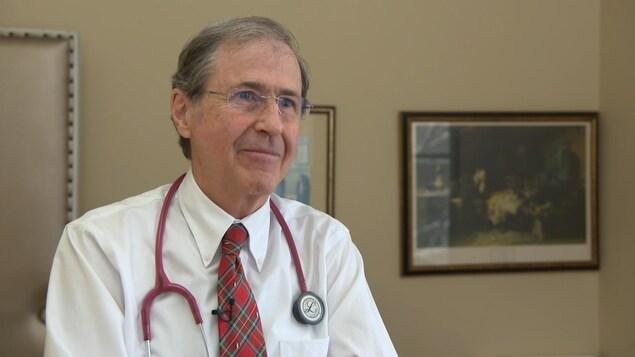 Le pédiatre Denis G. Leduc