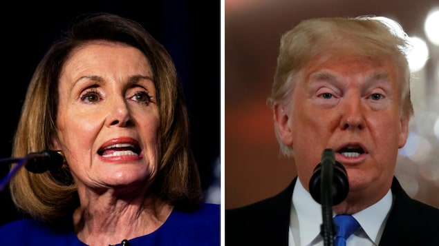 Nancy Pelosi et Donald Trump
