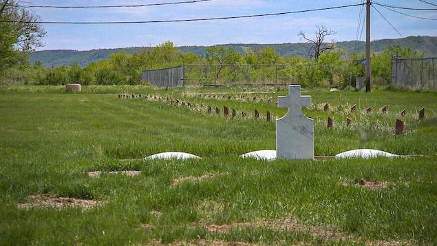 Des tombes dans un cimetière. (archives)