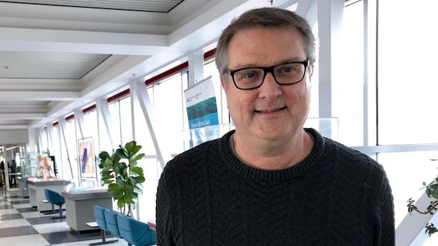 Peter Galbraith, chercheur en océanographie physique chez Pêches et Océans Canada