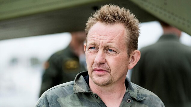 Peter Madsen, 46 ans, le propriétaire et inventeur du sous-marin artisanal «UC3 Nautilus» lorsqu'il a été secouru le 11 août à Copenhague.