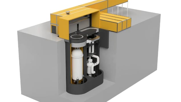 Schéma du réacteur nucléaire