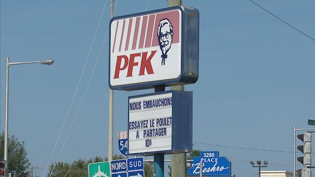 Deux PFK de la région ont dû réduire leurs heures d'ouverture en raison de leurs problèmes de recrutement
