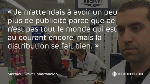 Mathieu Gravel, pharmacien