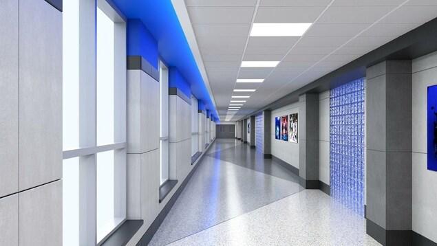 Une image de corridor.