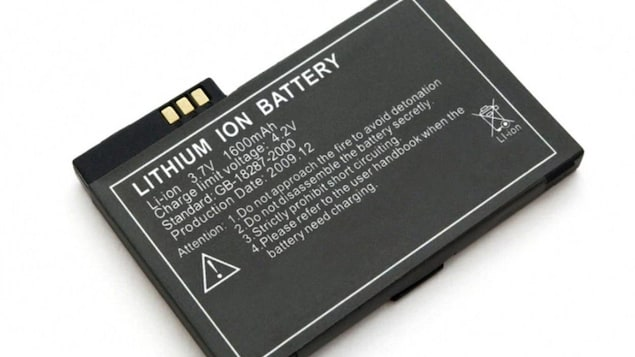 Un exemple de pile au lithium-ion