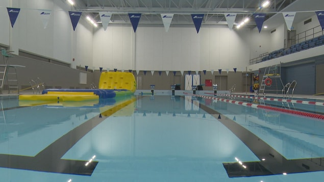 La piscine de Gaspé, rénovée.