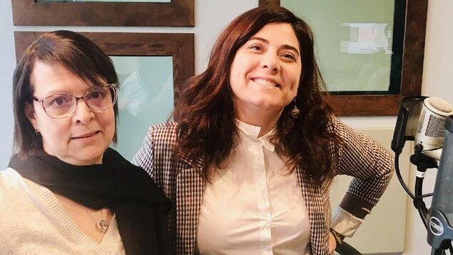 Véronique Gabrysz et Sylvie Gaignard