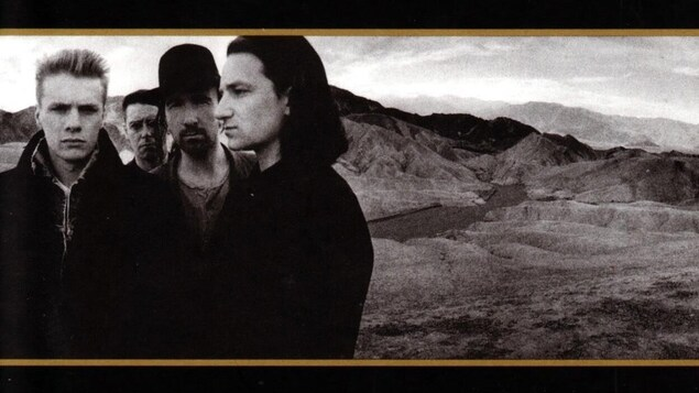 Détail de l'album « The Joshua Tree », du groupe U2