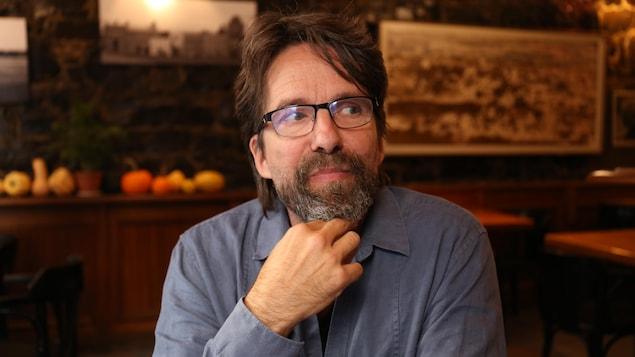 Le poète Christian Vézina