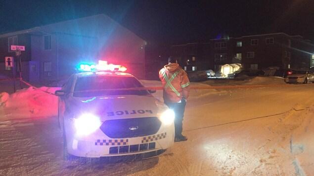 Une opération policière à Port-Cartier