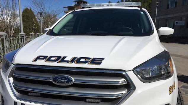 Un véhicule de la Sécurité publique de Saguenay