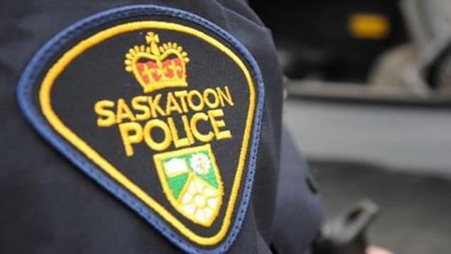 Un écusson de la police de Saskatoon