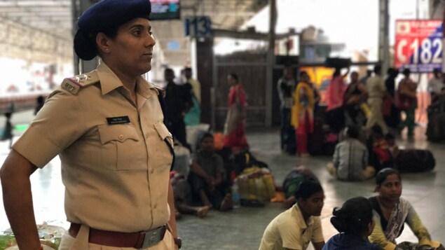 Rekha Mishra, policière