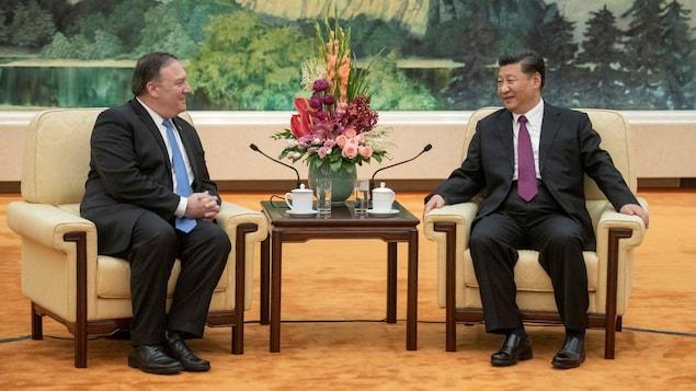 Économie - Bras de fer entre Chinois et Américains sur les importations