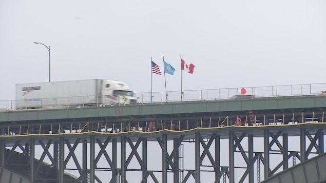 Le pont Peace à Fort Erie