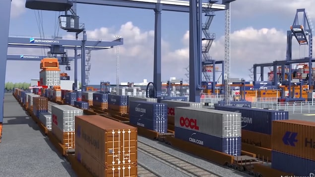 Le port de Québec a dévoilé des détails de son projet Laurentia, vendredi.