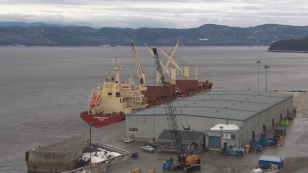 Le port de Grande-Anse à Saguenay