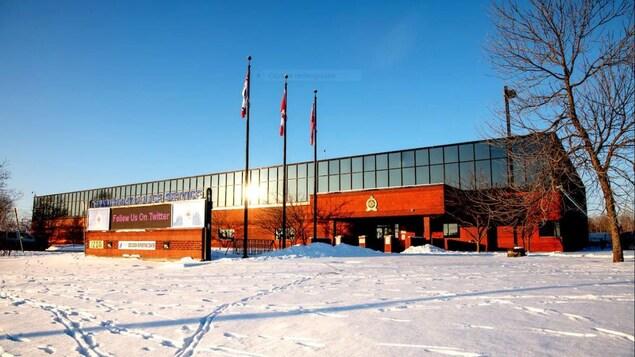 Le quartier général du Service de police de Thunder Bay.