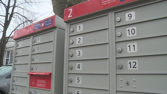 Des boîtes postales communautaires