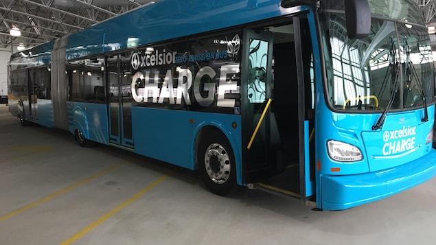 Un autobus 100 % électrique testé par la Ville de Québec