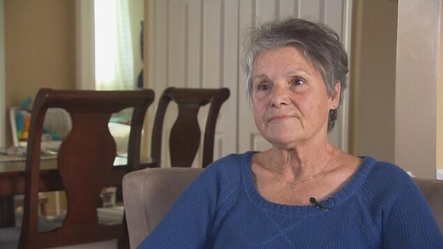 Hélène Trépanier est préposée aux bénéficiaires depuis 25 ans.