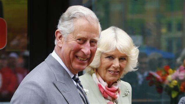 Le prince Charles et son épouse, Camilla, en visite à Charlottetown.