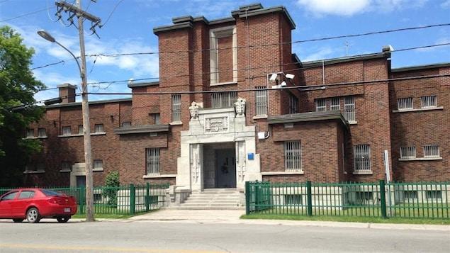 Le bâtiment de l'ancienne prison