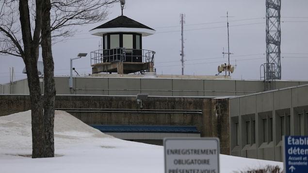 L'Établissement de détention de Québec, aussi connu sous le nom de prison d'Orsainville