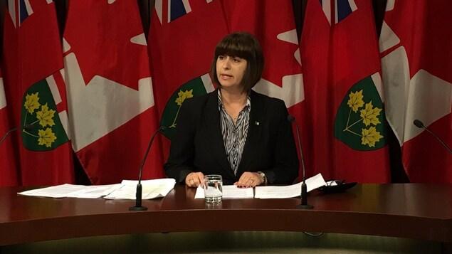 La ministre Lalonde affirme qu'elle déposera à l'automne un projet de loi sur une réforme en profondeur des pratiques carcérales en Ontario, question de mieux les encadrer.