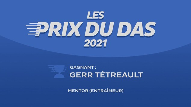 Affiche gagnant du prix du DAS Gerr Tétreault