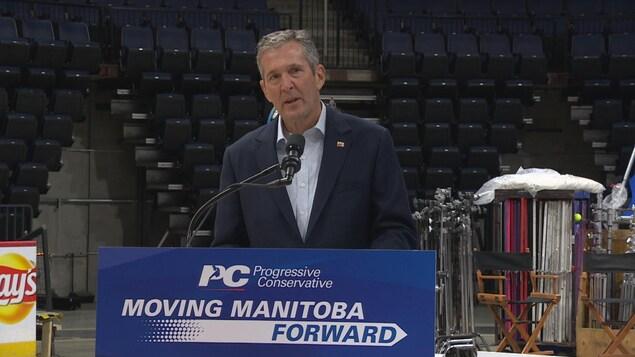 Chef du Parti progressiste-conservateur, Brian Pallister