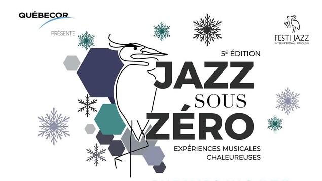 L'affiche annonçant la programmation de l'événement « Jazz sous zéro ».