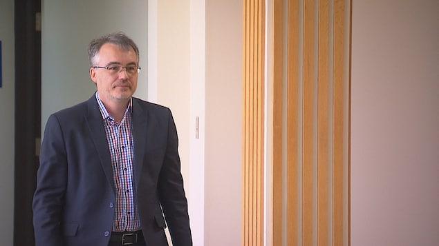 Le psychiatre Sylvain Faucher
