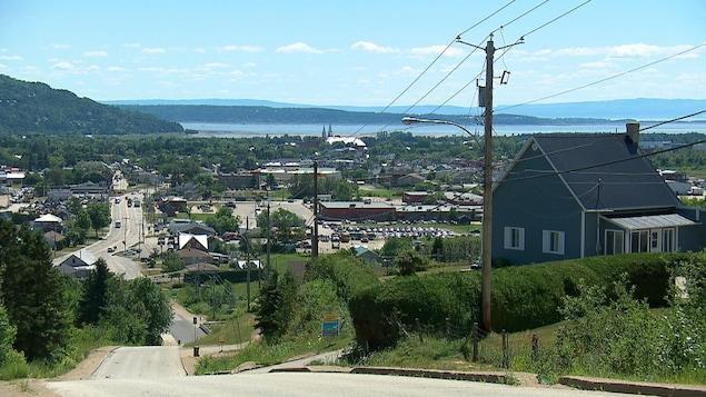 Village de Baie-Saint-Paul en été