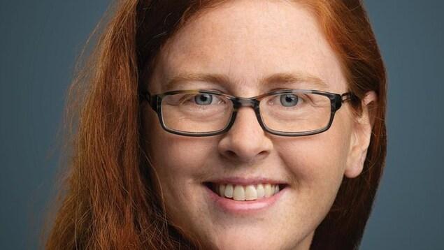 La candidate de Québec solidaire, Catherine Cyr Wright