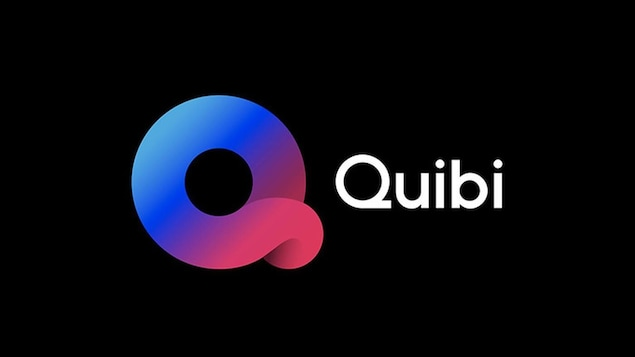 Le logo de Quibi, un Q stylisé.