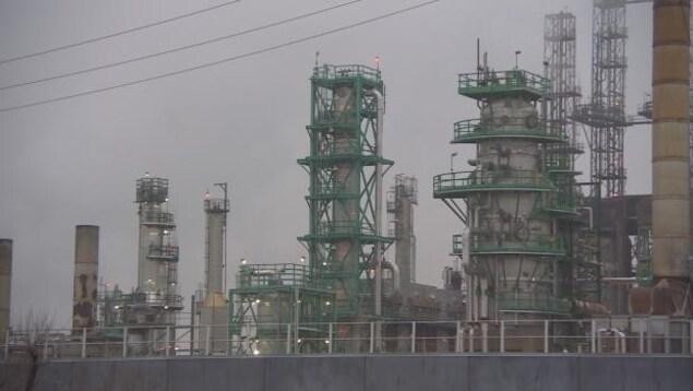 Raffinerie Co-op de Regina.