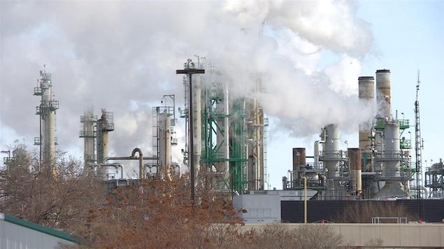 La raffinerie Co-op de Regina