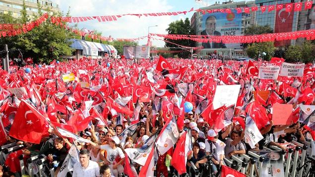Erdogan remporte l'élection présidentielle — Turquie
