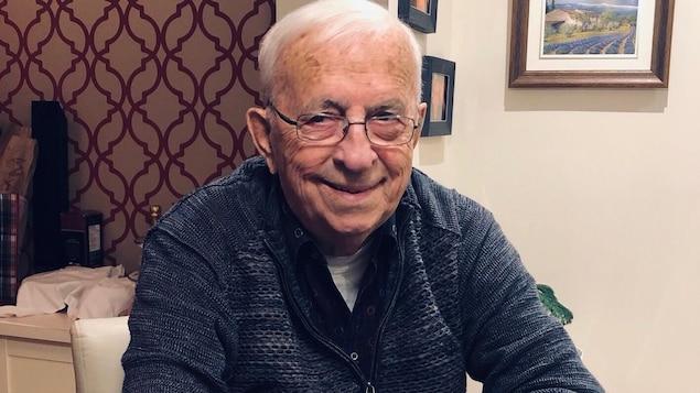 Raymond Cantin aura bientôt 91 ans.