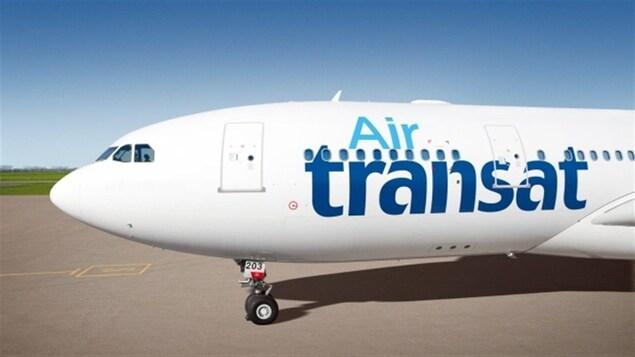 Un avion de la compagnie Air Transat