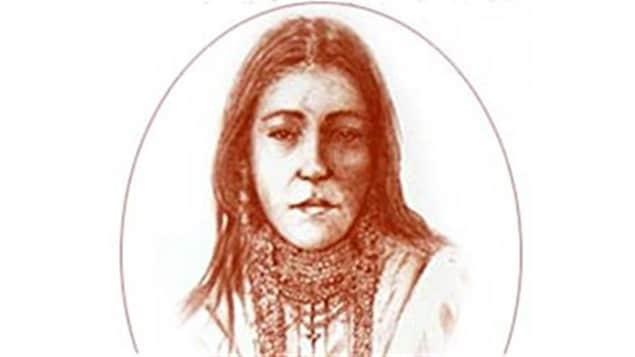 Isabelle Montour, Métisse née au Québec au 17e siècle.