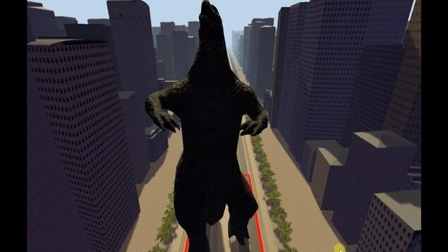 La forme de l'avatar influence le cerveau du cobaye et transforme automatiquement sa démarche.