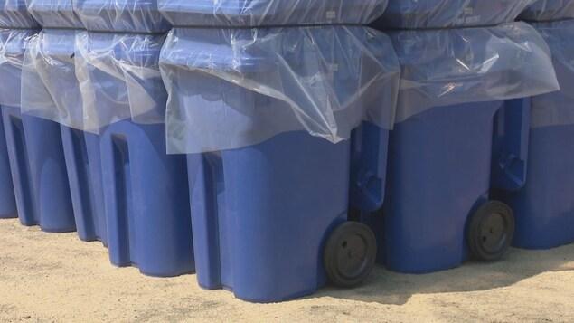 De nouveaux bacs de recyclage seront distribués sous peu aux résidents du Restigouche.